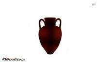Ancient Greek Vases Clipart Silhouette Images, Pics