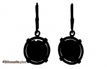 Cameo Lava Earrings Silhouette