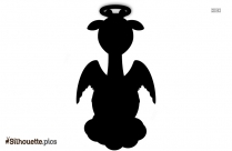 Angel Cartoon Silhouette Vector And Graphics