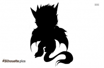 Angel Dragon Silhouette Picture