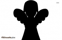 The Fairy Girl Wallpaper Silhouette, Elona Sticker