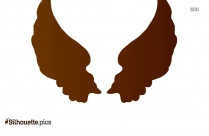 Wings Icon Silhouette Art