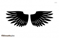 Angel Wings Drawing Silhouette Pic