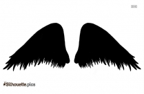 Angel Wings Silhouette Clipart