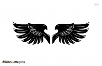 Angel Wings Clipart Silhouette