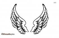 Angel Wings Symbol Silhouette, Wings Tattoo