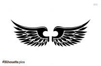 Angel Wings Silhouette Illustration