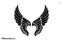 Angel Wings Silhouette For Free