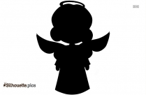 Christmas Angel Illustration Silhouette