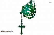Anglican Rosary Silhouette Art