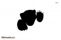 Tiger Sitting Silhouette Clipart