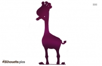 Angry Giraffe Silhouette Picture