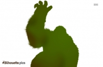 Mountain Gorilla Silhouette