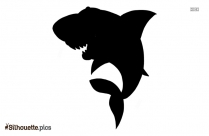 Basking Shark Silhouette Image And Vector