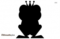 Animal Character Frog Silhouette