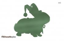 Animal Christmas Silhouette Image And Vector