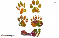 Cat Paw Silhouette Clip Art