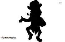 Animated Characters Dancing Silhouette