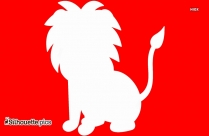 Animated Lion Sitting ClipArt Best Silhouette