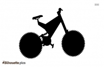 Animated Motorcycle Silhouette