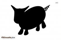 Animated Pig Silhouette Vector And Graphics