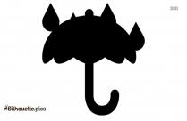Animated Rain Emojis Clipart Silhouette