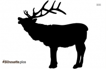 Reindeer Sleigh Silhouette Vector And Graphics