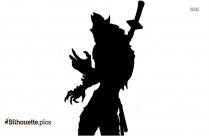 Symbiote Captain America Silhouette