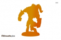 Percy Jackson Satyr Silhouette Vector And Graphics
