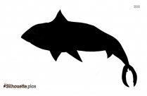 Tuna Silhouette Free Vector Art