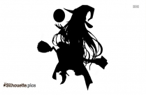 Anime Witch Silhouette