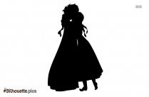 Anna And Elsa Silhouette Clip Art