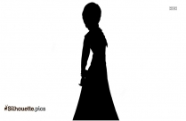 Anna And Elsa Silhouette Illustration