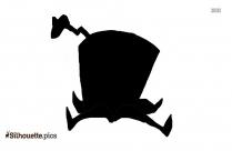 Fin Cartoon Silhouette Clipart