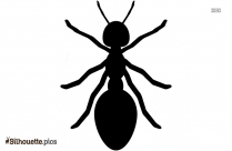 Ant Painting Silhouette Illustration