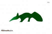 Free Anteater Cartoon Silhouette