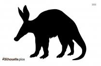Anteater Symbol Silhouette