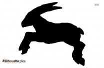 Reindeer Antler Silhouette Icon