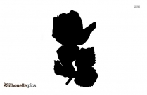 Rose Leaves Silhouette