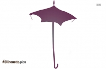 Antique Doll Umbrella Silhouette Image For Free