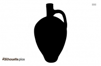 Clay Pot Silhouette Picture
