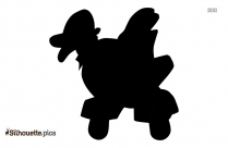 Antique Toys Silhouette Clip Art