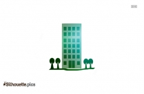 Museum Building Silhouette Illustration