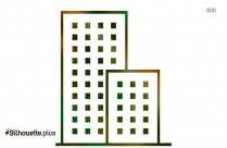 Apartment Outline Silhouette Image