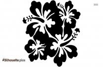 Flower Silhouette Free Vector Art