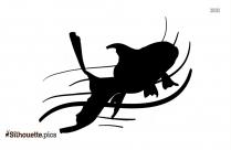 Shark Fish Silhouette Image