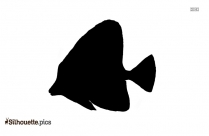 Fish Black And White Silhouette