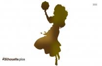 Black Castle Princess Merida Silhouette Image