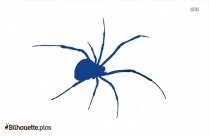 Cartoon Spider Silhouette Clip Art