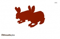 Arctic Hare Clipart Image Silhouette